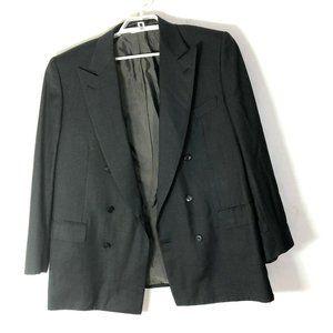 BRIONI gray   Striped  WOOL Jacket sz 48